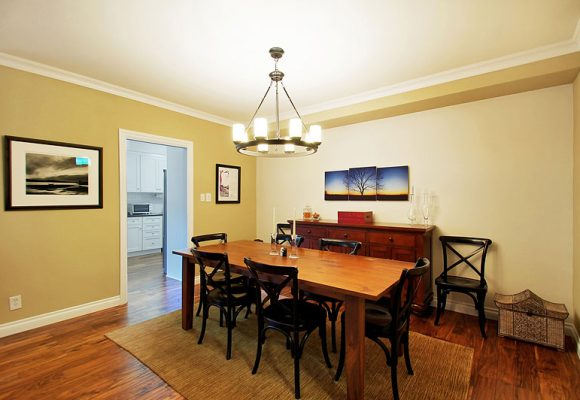After Dining Room Organization & Decor
