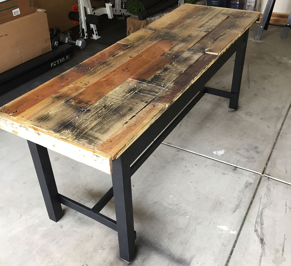 Refurbished Dining Table by Brian Yetwin | Get Organized LA