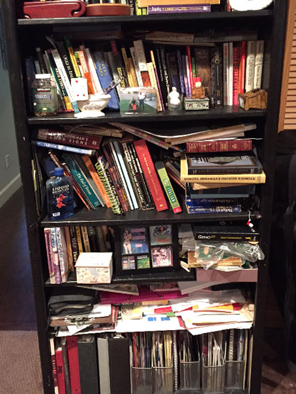 Book Shelves Organization